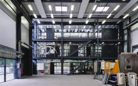 Erweiterungshalle Experimentierhalle
