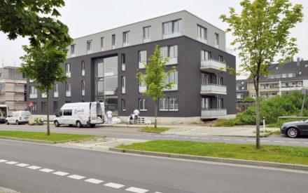 Mehrfamilienhäuser Haarzopf Eingang