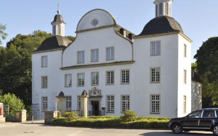 Schloss Borbeck Eingang