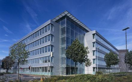 Verwaltungsgebäude Bocholt Eckverglasung