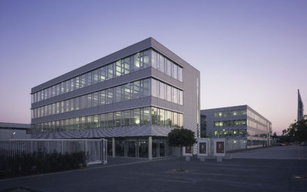Verwaltungsgebäude KL Eingang