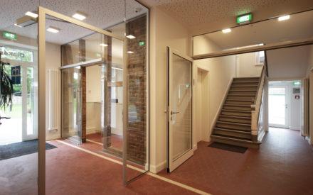 Büroräume Diakonie Schwerte Eingang Flur